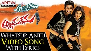 Whatsup Antu Video Song With Lyrics II Alludu Seenu Songs II Bellamkonda Sai Srinivas, Samantha