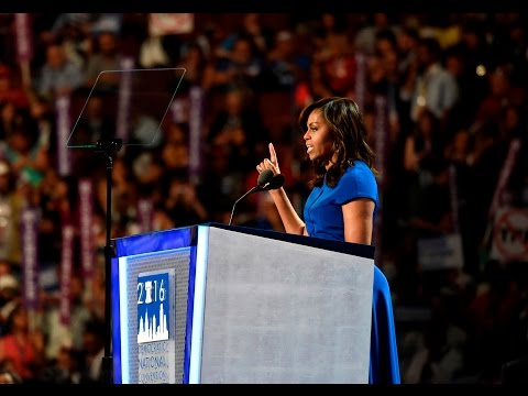 Michelle Obama hits the campaign trail and candidates