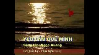 Karaoke Yêu lắm quê mình _ Ngọc Quang