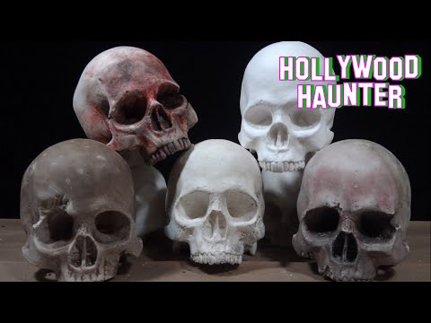 Halloween Skeleton Decoration | Realistic Skull Prop | Subscriber Contest Youtube Giveaway