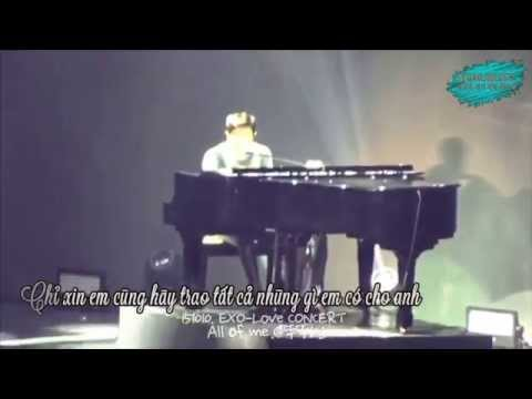 [Vietsub] All of me (John Legend) - Chanyeol cover {YeolBest}