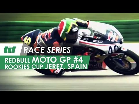 Red Bull MotoGP Rookies Cup | Jerez Circuit Spain | RACE SERIES - Ep 4