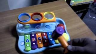 Обзор игрушка ребенку - Joy Toy Игра ксилофон развивает логику
