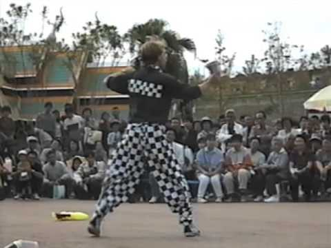 The Checkerboard Guy at the Matsuri Haku Festival in Ise, Japan, October 1994