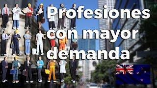 Profesiones con mayor demanda en #NuevaZelanda (Listas Oficiales Immigration New Zealand)