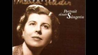 Maria Stader - Der Hirt auf dem Felsen  D. 965 (Schubert)