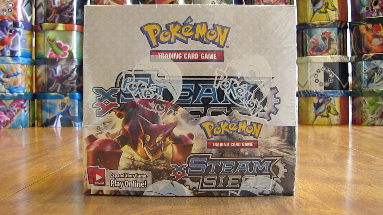 Pokemon Steam Siege Booster Box Opening Pt 1 Youtube