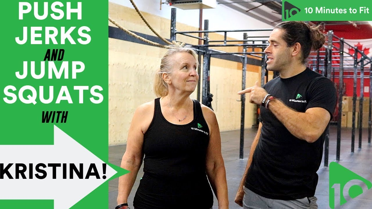 Fitness Quick Fix? | Push Jerks and Jump Squats with Kristina (59)