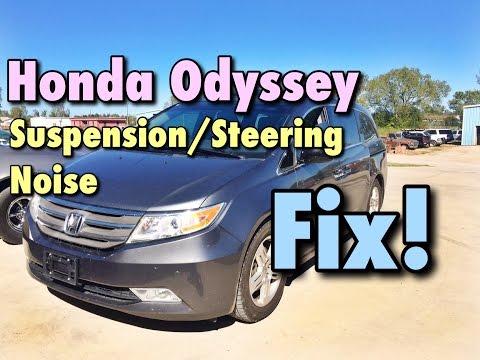2011-2016 Honda Odyssey Front End Noise Fix