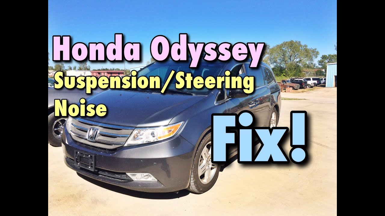 hight resolution of 2011 2016 honda odyssey front end noise fix