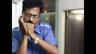 Download Hindi Video Songs - Tere bina zindagi on harmonica :: Swarup Mitra live in Delhi