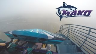 Mako Fog POV Sea World Orlando (Tallest, Fastest & Longest Roller-Coaster in Orlando)
