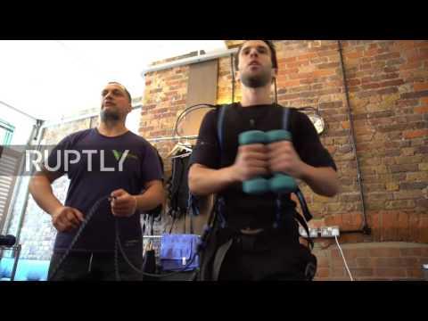 UK: Electric shock exercise craze creates a buzz in London