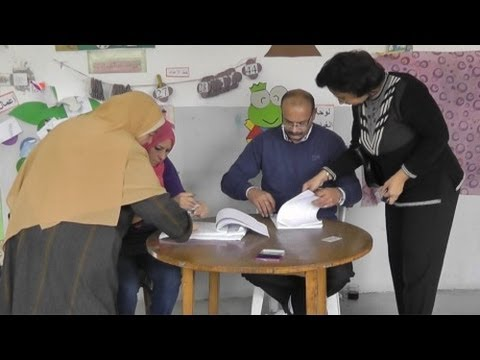 Egypt votes on proposed constitution استفتاء الدستور بمصر