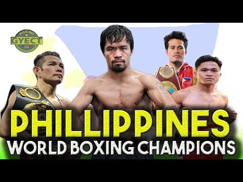 PHILIPPINES WORLD BOXING CHAMPIONS | 2019