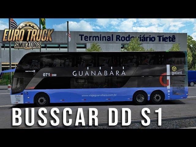 NOVO BUSSCAR BUS STAR DD S1 - APOTECH GAMES - ETS2 1.31