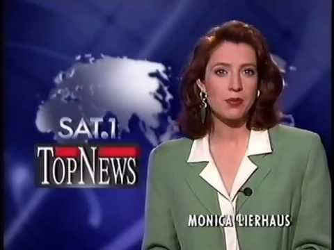 Sat.1 TopNews Monica Lierhaus 5.6.1995