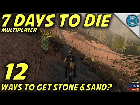 7 Days to Die | EP 12 | Get Stone & Sand | Multiplayer w/GameEdged Let's Play | Alpha 15 (S17)
