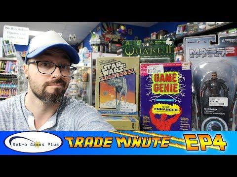 Intellivision games, Gameboy Advance, Naruto figures| Retro Games Plus Trade Minute EP 4| Russ Lyman