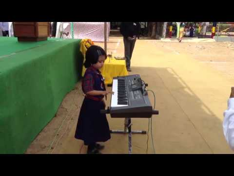 Amazing Girl, Song tune Rashtra Geet......?
