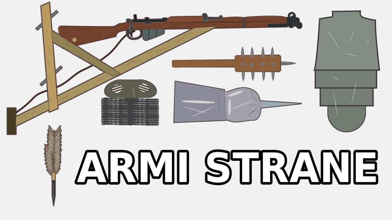 Le Armi Più Strane Della Storia Prima Guerra Mondiale