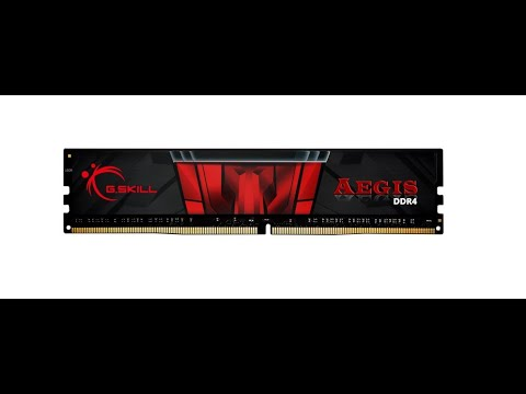 Оперативна пам'ять G.Skill DDR4-2400 4096 MB PC4-19200 Aegis (F4-2400C17S-4GIS)