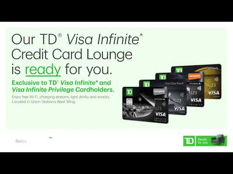 This credit card gets you lounge access at Union Station | TD Visa Infinite