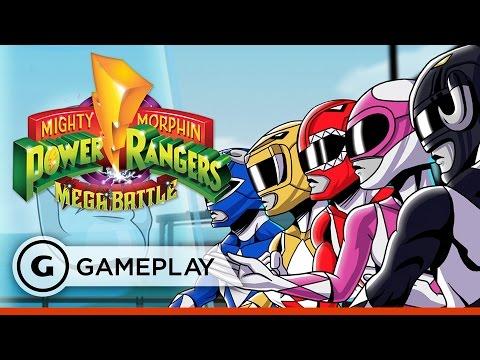 Mighty Morphin Power Rangers: Mega Battle - King Sphinx Boss Fight