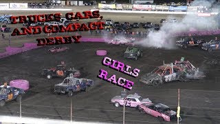 2018 Round 5: Compact Derby, Figure 8 Racing, And The Girls Race!