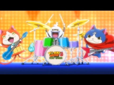 Yo-Kai Watch 2 Bony Spirits - Opening Theme Song! [Direct Nintendo 3DS Capture]