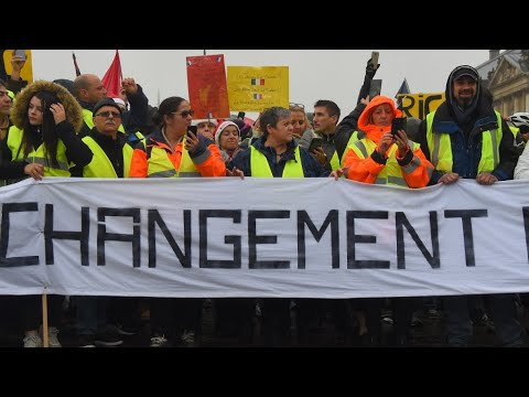 Fresh Yellow Vest protests to be held on Saturday and New Year's Eve
