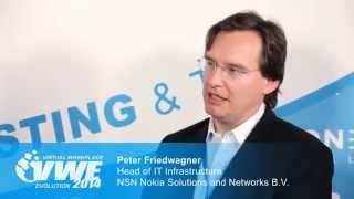 Interview mit NSN Nokia Solutions and Networks B.V. - Virtual Workplace Evolution 2014