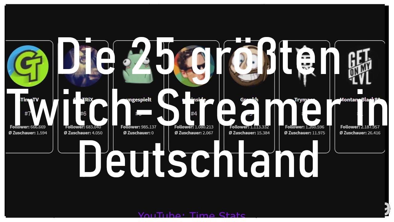 Größte Deutsche Twitch Streamer