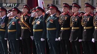 Авиация впервые с 1945 года приняла участие в параде Победы в Петербурге