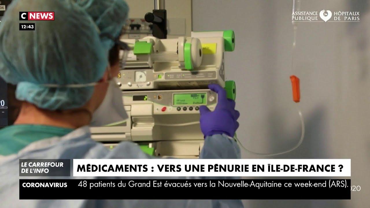 Médicaments : vers une pénurie en Île-de-France