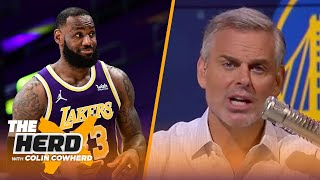 Lakers were a mess before LeBron James, talks Warriors' Draymond Green - Colin | NBA | THE HERD
