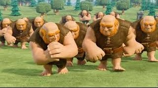 Clash-Of-Clans-THE-TRUTH-Max-Level-8-Giants-Vs-Max-Golems-New-of-July-2016.