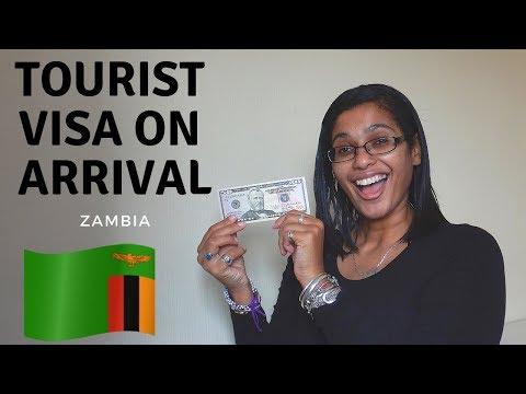 Zambia tourist visa on arrival | $50 USD