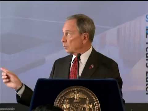 Mayor Bloomberg Delivers Address on New York City's Post-9/11 Renewal