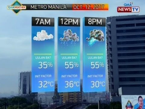 QRT: Weather update as of 5:53 p.m. (Oct. 11, 2017)