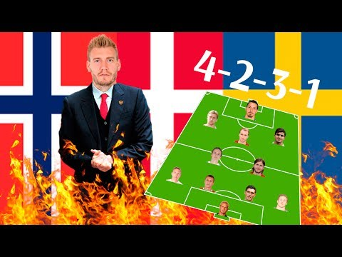 If SCANDINAVIA Had a Football Team XI - FEAT. Ibrahimovic and Lord Bendtner