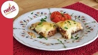 Patates Püreli Patlıcan Kebabı - Fırında Patlıcan Yemeği Tarifi