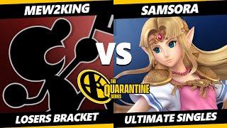 May Major Losers Bracket - Mew2King (Game & Watch, Cloud) Vs. Samsora (Zelda) Smash Ultimate - SSBU