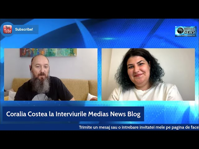 Coralia Costea la Interviurile Medias News Blog