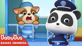 Bayi Panda Kiki & Miumiu Berubah Menjadi Polisi | Lagu Anak-anak | Bahasa Indonesia | BabyBus
