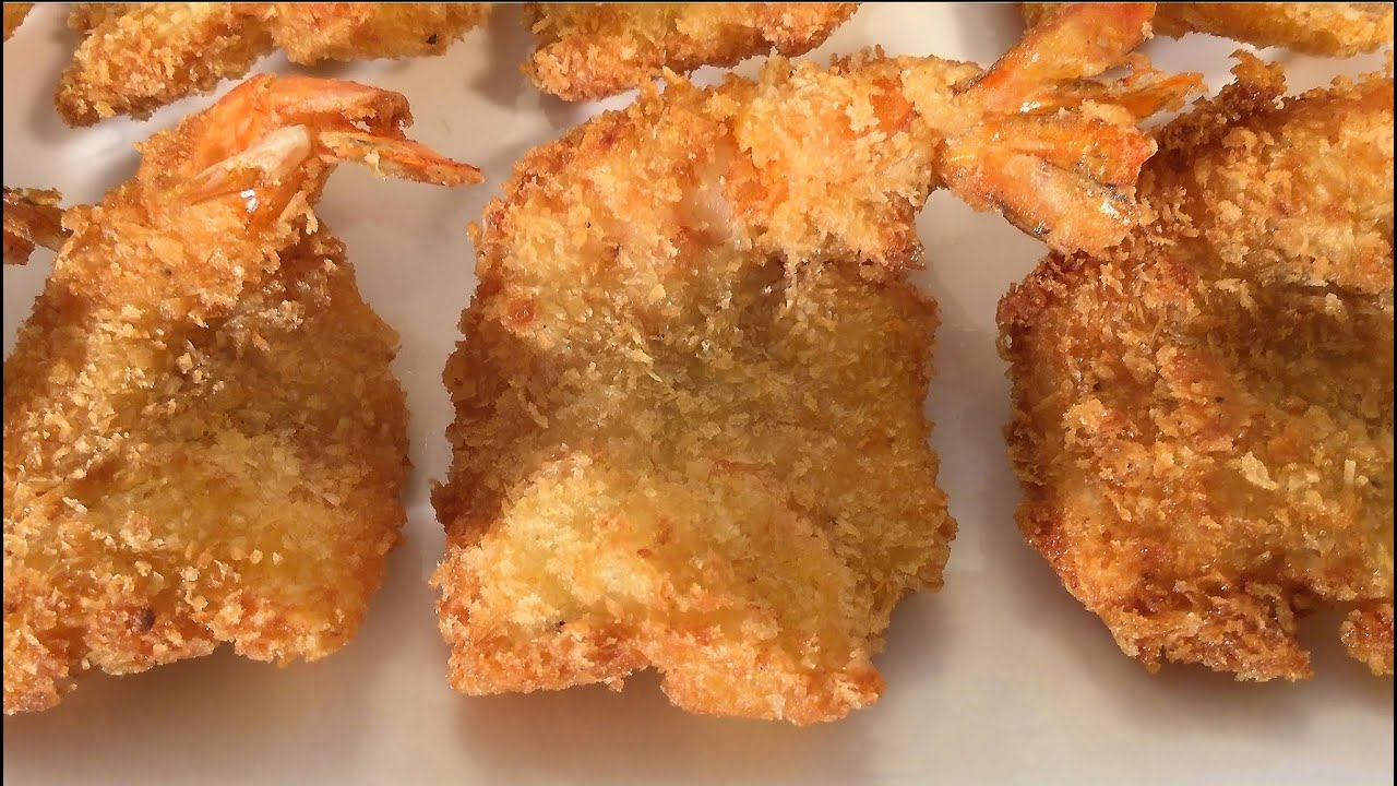 How To Make Coconut Shrimp Prawns With Panko Fried Asian Food Recipes Youtube
