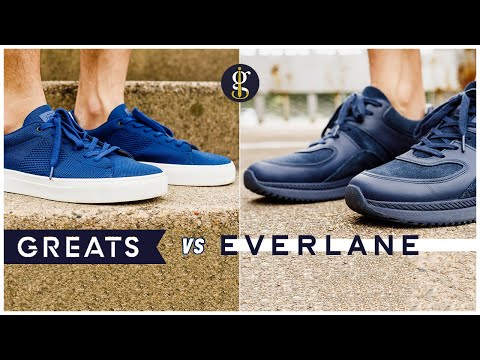 Greats Royale Knit vs Everlane Tread Trainer (Sustainable Sneakers Battle & Review)