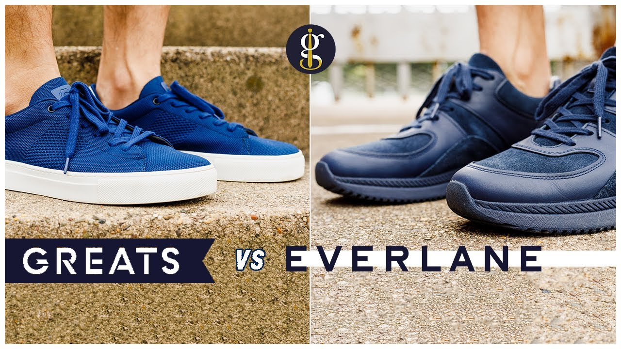 81e955f1b9f Greats Royale Knit vs Everlane Tread Trainer (Sustainable Sneakers Battle &  Review)