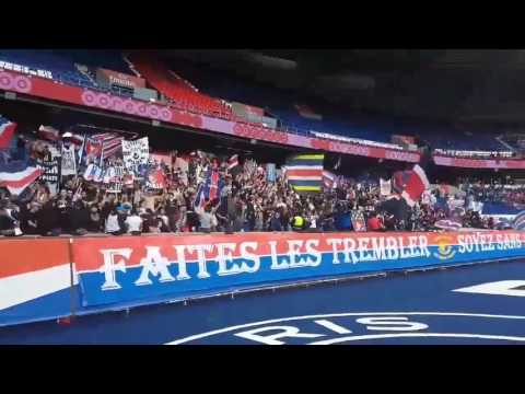 Ultras Paris - Nouveau chant argentin (29/04/2017 - 4K)