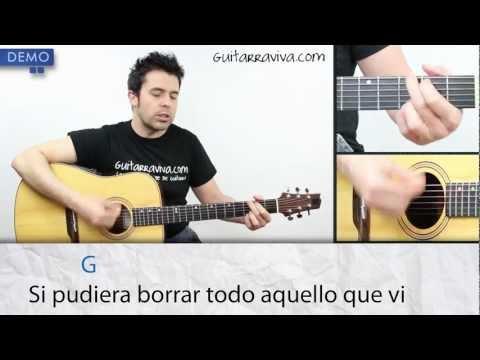Como tocar No Dudaría de Antonio Flores Acordes y clase completa en guitarra